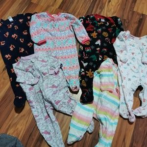 Other - Cozy 3-6 Baby PJs Bundle!